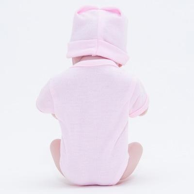 "Hedy: 11"" 100% Handmade Biracial Lifelike Mini Reborn Girl - Kiss Reborn"