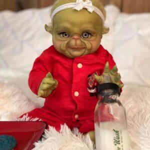 """Alien Gavin: 22"""" Alien Reborn Baby Doll Boy - Kiss Reborn"""
