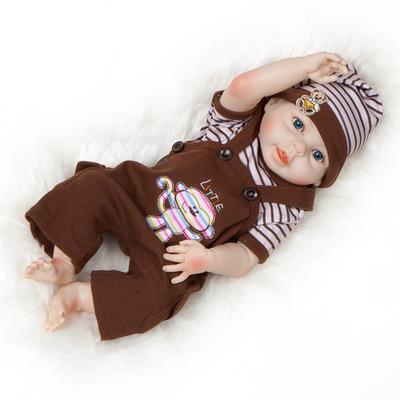Gabriel: Life-like Open Mouth Baby Doll Boy - Kiss Reborn