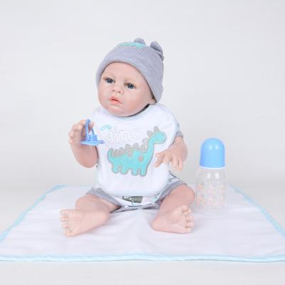 King: The Newest Realistic Blue Eyes Doll Boy - Kiss Reborn