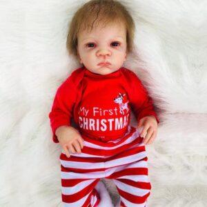 Mateo: Blue Eyes Lifelike Grow Up Reborn Doll Boy - Kiss Reborn