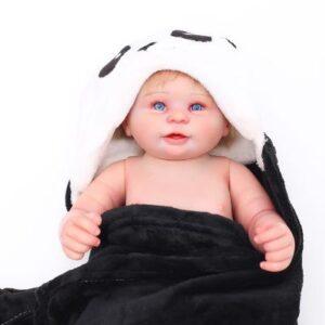 Pearl: Majestic Smiling Reborn Sweet Real Baby Doll Boy - Kiss Reborn