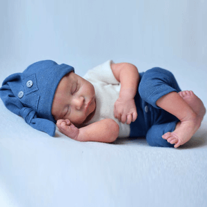 Lucas: Lifelike Feel Sleeping Baby Doll Boy - Kiss Reborn