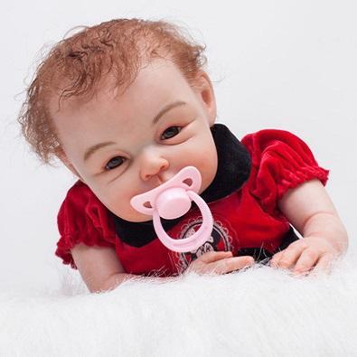 Nicole: 2 Years Old Magic Life-like Toddler Baby Girl Doll - Kiss Reborn