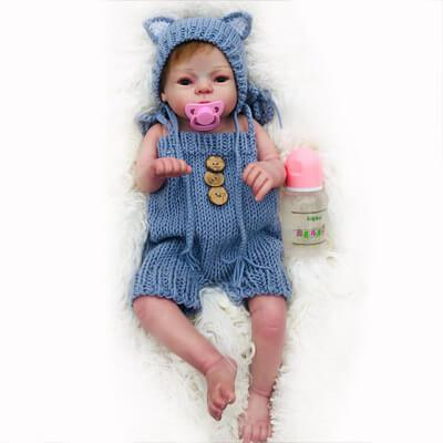 """Tiffany: 22"""" Gorgeous 3 Years Old Baby Girl Toddler Doll - Kiss Reborn"""