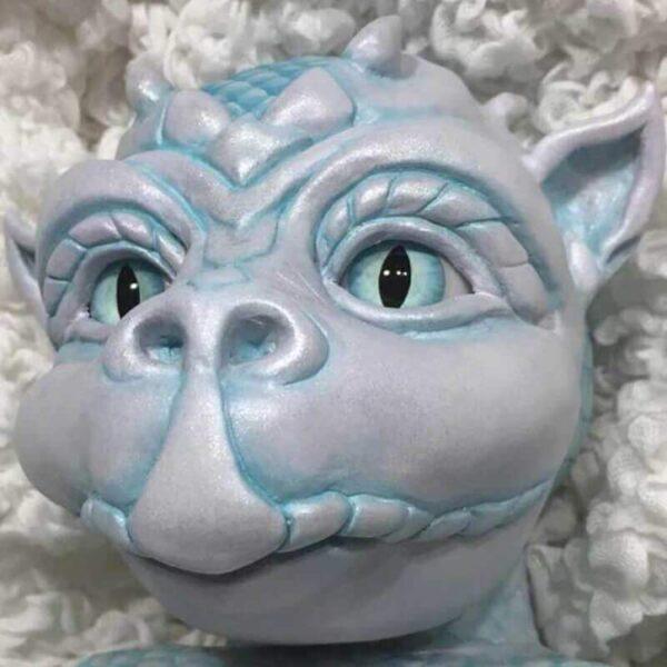 "Dragon Drake: 22"" Sharp Eyes Dragon Baby Doll - Kiss Reborn"