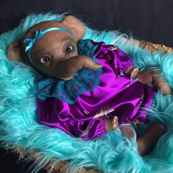 22 ElephantLinda RebornBabyDollBoy RealLifelike TrulyRebornBabyDoll ChildrenGifts 1