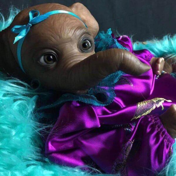 22 ElephantLinda RebornBabyDollBoy RealLifelike TrulyRebornBabyDoll ChildrenGifts 2