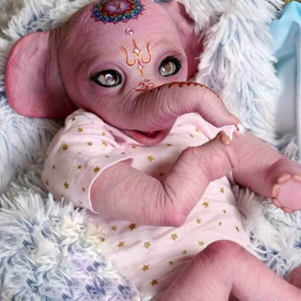 22 ElephantPeter RebornBabyDollBoy RealLifelike TrulyRebornBabyDoll ChildrenGifts 2