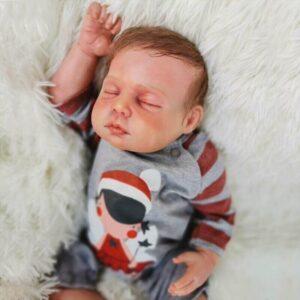Frederic: Magic Cuddle Sleeping Reborn Baby Doll Boy - Kiss Reborn