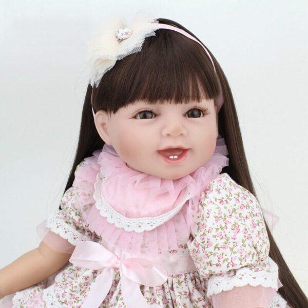 55cm wearing skirt realistic reborn baby olivia 2