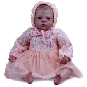 Alisha: Big Hazel Eyes Charming Reborn Baby Doll Girl - Kiss Reborn