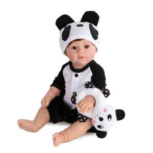 Amelia22 PandaSuitCutieRebornBabyDoll 1