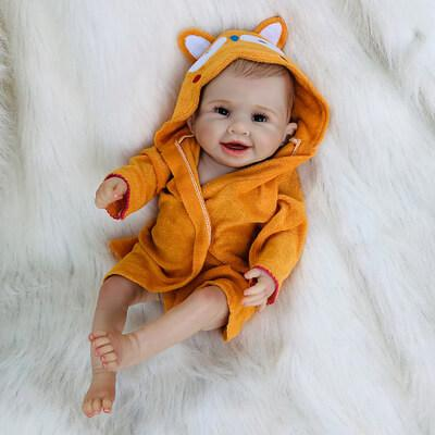 Andrea: Cheerful Realistic Baby Doll Girl - Kiss Reborn