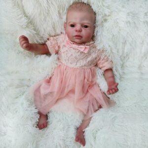 Blanche: Lifelike Cherub Naive Reborn Baby Girl - Kiss Reborn