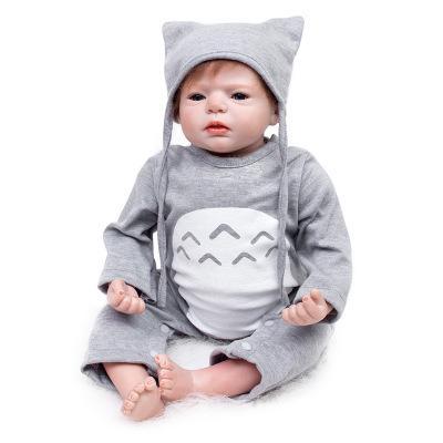 Edgar: Open Mouth Reborn Baby Doll Boy - Kiss Reborn