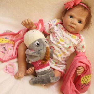 Fanny: Cuddle Reborn Baby Doll Girl - Kiss Reborn