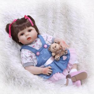 NPK 22'' Full Body Silicone Reborn Baby Doll Girl Ariel - Kiss Reborn