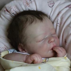 Ogden: Newborn Look Sleeping Real Baby Doll Boy for Best Childhood Playmates - Kiss Reborn