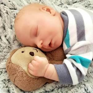 "Oliver: 17.5"" Cloth Body Angelic Quiet Real Feel Boy Doll - Kiss Reborn"