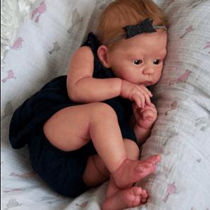 Leo: High-quality Vinyl Alive Reborn Baby Doll Boy - Kiss Reborn