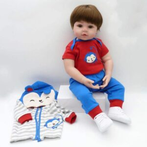 Full Body Realistic Silicone Baby Toddler Girl Ava for Sale - Kiss Reborn