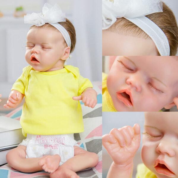18 inch Reborn Baby Doll Girl Alive Newborn Baby Doll 1