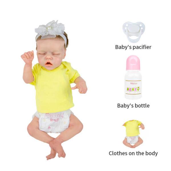 18 inch Reborn Baby Doll Girl Alive Newborn Baby Doll 11