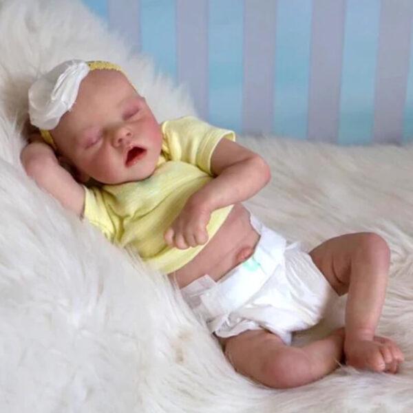 18 inch Reborn Baby Doll Girl Alive Newborn Baby Doll 14