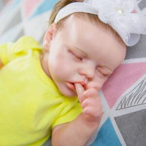 18 inch Reborn Baby Doll Girl Alive Newborn Baby Doll