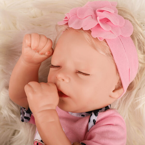 Daisy White Skin Newborn Sleeping Real Looking Baby Dolls Lovely Reborn Girl
